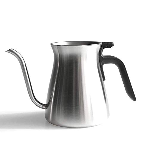 ZFFSC Ketel voor Koffie en Thee Roestvrij Staal Frosted Fijne Mond Koffiemachine Koffie Ketel Zwanenhals Huishoudelijke Koffie Gebruiksvoorwerpen