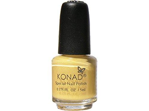 Konad - Nail Stamping (5 ml) en colores pastel amarillo