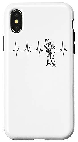 iPhone X/XS Cool Saxophone Players Gift | Cute Music Lovers Men Women Case