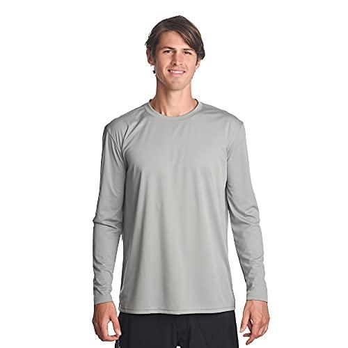 Denali Performance Mens Teaser UPF 50 Protect UV Mega Solar Long Sleeve T Shirt