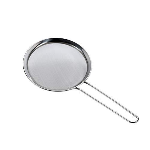 Kitchen Sifter Fine Mesh Colander Screen Stainless Steel Mesh Strainer (Size : 32×15.8cm)