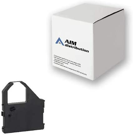 AIM Compatible Replacement for Star Micronics NX-1000/LC10 Black Printer Ribbons (6/PK) (80980850) - Generic