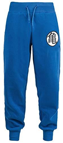 Dragon Ball Z - Cosplay Männer Trainingshose blau L