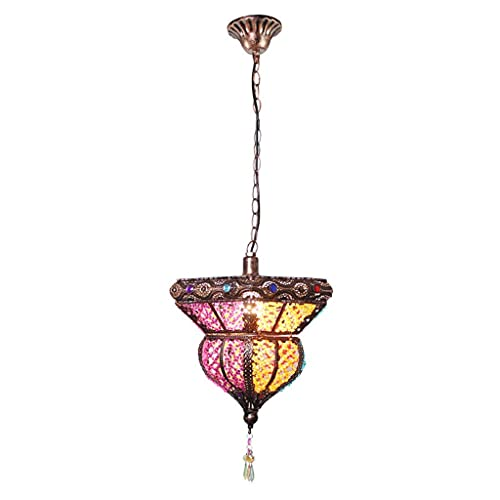 WEM Candelabros novedosos, candelabro, luz de pasillo, luz de balcón, luz de pasillo, restaurante árabe exótico, candelabro pequeño, luz colgante