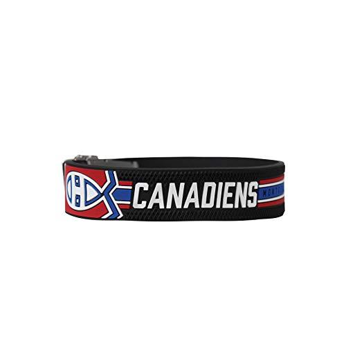 BRAYCENHL® Armband Montreal Canadezen I NHL® shirt om de pols, maten zelf aan te passen, armband verstelbaar met…