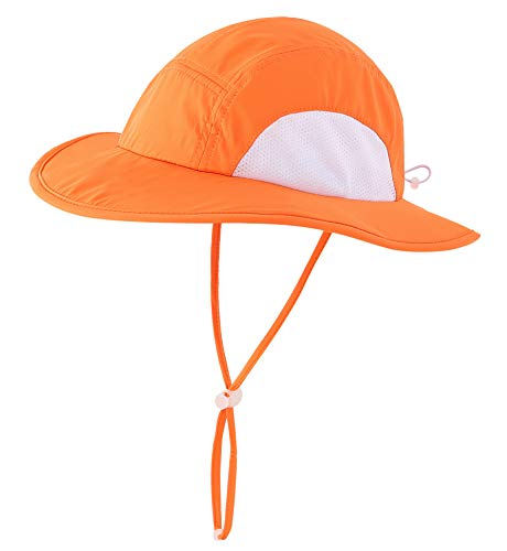 Home Prefer UPF 50+ Sun Hat for Girls Sun Protection Hat Wide Brim...