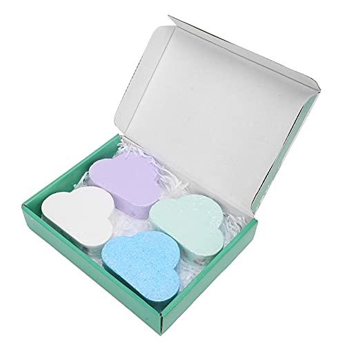 Mxzzand Bola de baño hidratante, Juego de Bolas de Sal de baño de hidratación Profunda Bola de Sal de baño No irritante Fragancia Elegante para Mejorar la pigmentación