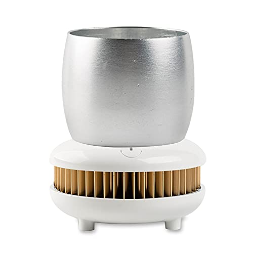 SuDeLLong Beverage Cooler Cup Fast Refrigeration Cup Home Car Cold Drink Machine Frozen Cup Beer Beverage Cold Cup Fast Cooling Cup (Color : Gold, Size : 11.5x11.5x6.8CM)