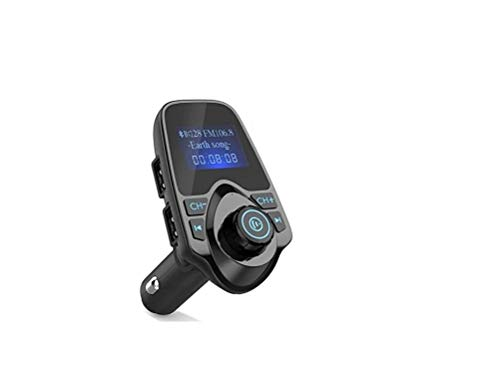 Transmisor FM Bluetooth, FM Transmisor para Coche Radio Adaptadores Manos Libres Car Kit para Tarjeta TF, USB Port, Micro SD Card, U Disk, Móviles, Tablet Portátil, Otros Dispositivos Bluetooth