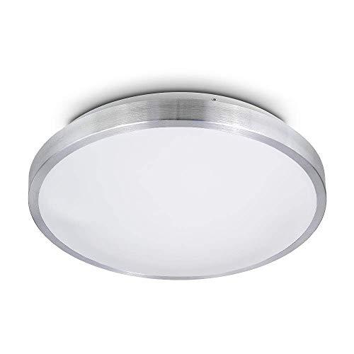Kwazar Luminaire Romi Deckenlampe Deckenleuchte Aluminium 230V IP20 E27 Fassung Deckenstrahler Flurleuchte