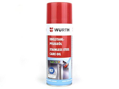 Würth Edelstahl Pflege-Öl Sabesto, 400ml, 44,98€/Liter