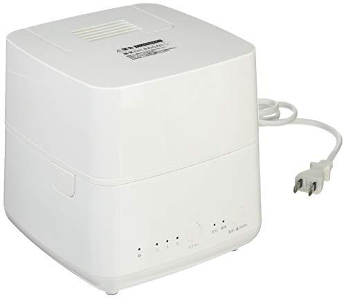 トップランドパーソナルスチーム式加湿器120エコモード搭載ホワイトSH-STM120WTE