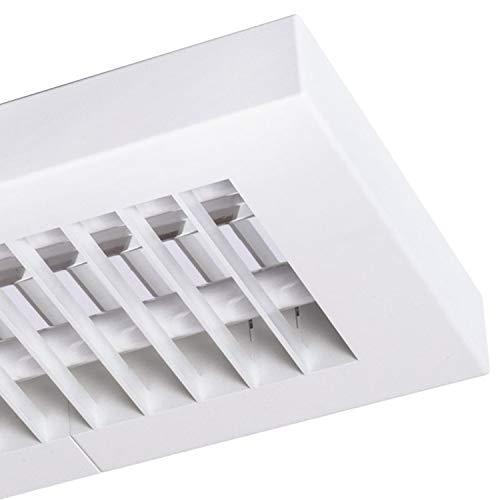 Star lumière LED grille Applique murale et plafonnier LED Office Dim 120 LEDs White neutralwhite | Lave-vaisselle verbaut 49 W 2400LM Blanc neutre | 20500081