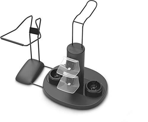 Speedlink VREADY 4-In-1 Charging Station - Ladestation + Halterung für PlayStation 4 VR-Brille und Controller - schwarz