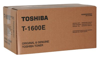 Toshiba T-1600E Toner und Laserkartusche für Toshiba E-Studio 16, 16 S, 160, Schwarz