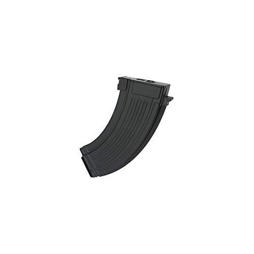 CYMA C22 - Caricatore per Replica da Softair Tipo AK47, in Metallo, 600 Pallini, Colore: Nero