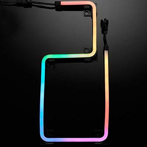 550mm LED Light Strip, Digital-RGB Computer Motherboard Adapter Light, 3Pin PC Computer Cases Controller 5v, 38 LED Lights