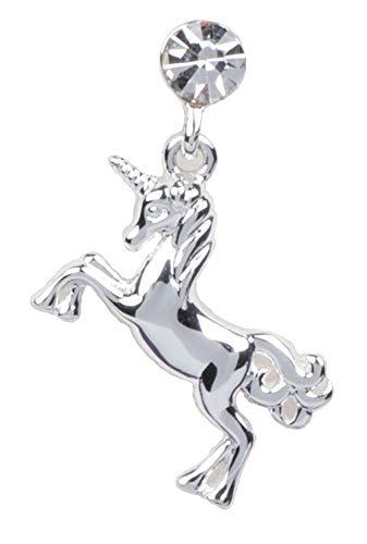 Unicorn Dreams Silver Plated Dangly Earrings