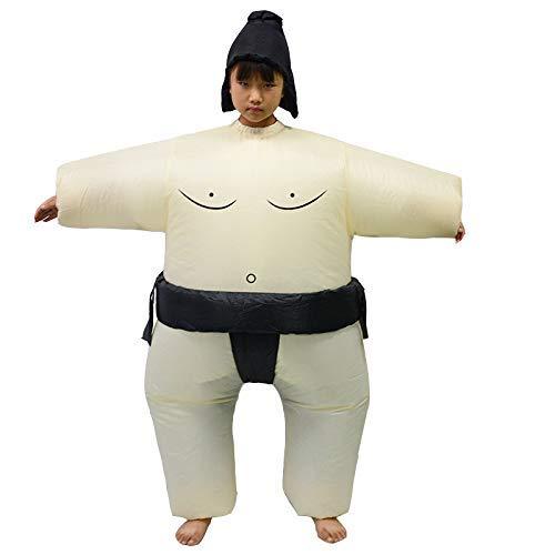 1yess Los nios de Halloween de Sumo Inflable Ropa Escenario de Funcionamiento Historieta de la mueca Inflable Ropa Ropa Ropa Sumo Divertido Rendimiento