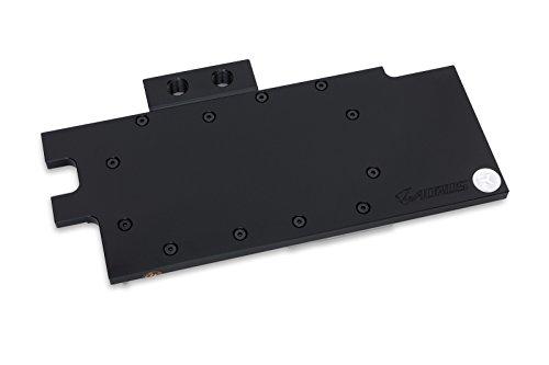 EK Water Blocks EK-FC1080 GTX Ti Aorus - Refrigeración (Tarjeta de video, Backplate, GIGABYTE AORUS GeForce GTX 1080 Ti, Negro, Níquel, Acetal, Níquel, RoHS)