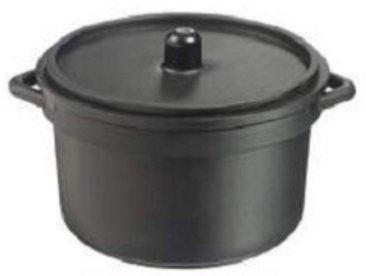 30 mini cocotte + couvercle - Couleur noire 90 ml