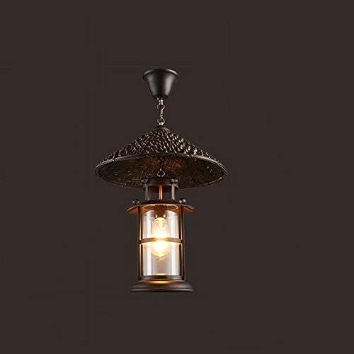 Kronleuchter Mehr Energie sparen American Iron Retro-Stil der jüdischen Persönlichkeit Kronleuchter Bar Cafe Gesch tl Candlestick - Fashion -1 Light