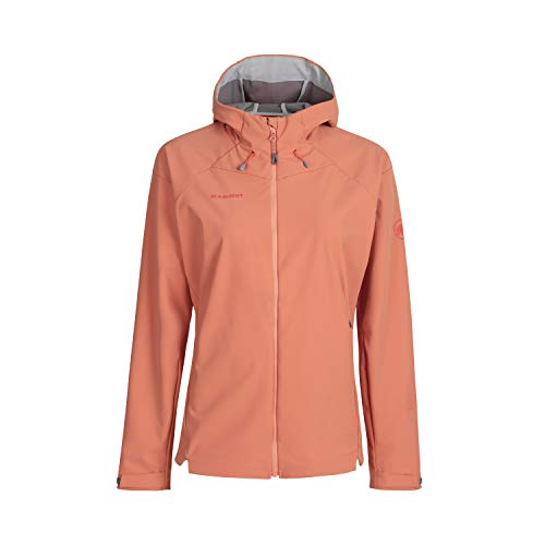 Mammut Damen Softshell-jacke Sapuen Hooded, orange, M