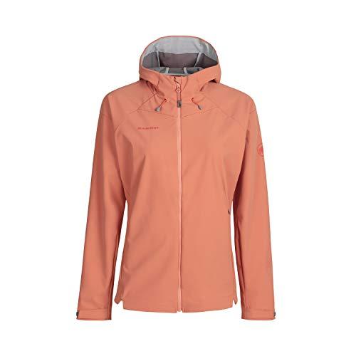 Mammut Damen Softshell-jacke Sapuen Hooded, orange, M
