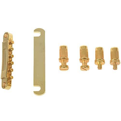 Naturra Oro ABR-1 Puente Tune-o-Matic y Cordal de Parada para y Guitarra