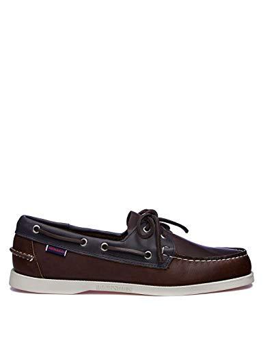 Sebago MAPPLE Men's Deck Shoe Cognac/Navy 41.5