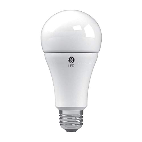GE Lighting 24132 Soft White LED 3-Way 50/100/150-Watt Replacement A21 Bulb Medium Base,1-Pack