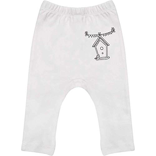 Azeeda 18-24 Monate 'Vogelhaus' Baby Leggings / Hosen / Jogger (BE00010961)