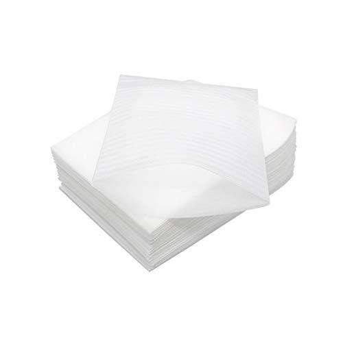 100 bolsas blancas de espuma para cambiar pañales para el transporte, material...