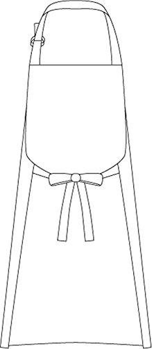 [アルベ] エプロン T62 レディース キナリ 日本 M-(日本サイズM相当)
