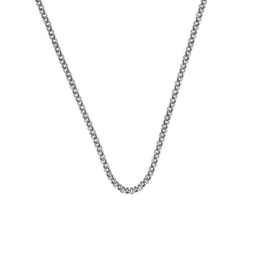 Quoins Halskette Edelstahl 3,0 mm, Länge: 60 cm