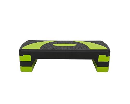 LiveUP Sports - Stepper Aerobico Gradini Regolabile AEROBIC STEP Green Allenamento Aerobico Resistenza Fit a Casa Palestra