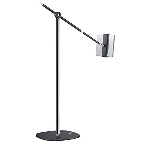 Tablet Floor Stand, 360° Flexible Height Angle Adjustable for Standing Sitting Lying Down Use, Universal Holder for 4.7-12.9 Inches iPad Pro Air Mini iPhone Android Tablets