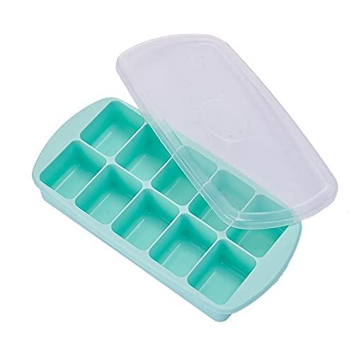 Juudoiie La bolsa congelada Caja de almacenamiento congelado bebé complementaria Artefacto Inicio de tipo rápida de la historieta de silicona de hockey sobre hielo de artefactos de cocina para hornear