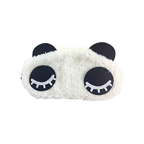 JUNGEN Schattierung Panda Schlafmaske Weich Schlaf Augenmaske für Reise und Zuhause
