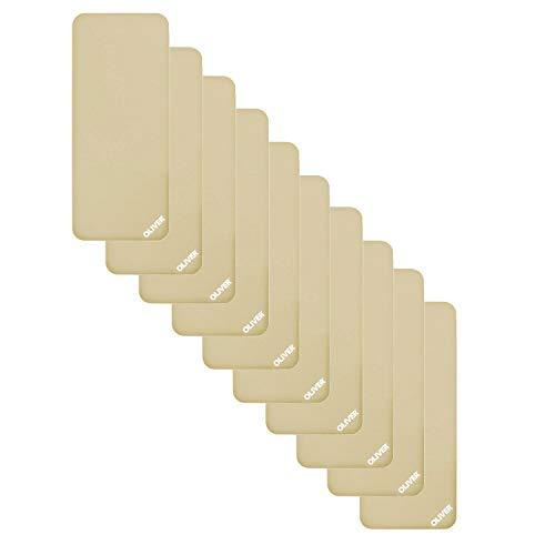 OLIVER - Esterilla de Gimnasia (10 Unidades, 60 cm de Ancho y 1,40/1,80 de Largo, en Paquete Ahorro), Color Beige, tamaño 140 x 60 x 1