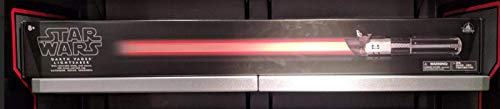 Disney Parks Star Wars Darth Vader FX Red Lightsaber with Removable Blade