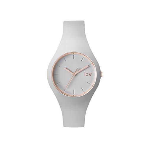 Ice-Watch - ICE glam pastel Wind - Reloj grigio para Mujer con Correa de silicona - 001066 (Small)