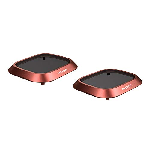 SKYREAT Upgraded Mavic 2 ND Filter Set ND32 / ND64 Compatible for DJI Mavic 2 Pro Filters ( Fit with Gimbal Cover)