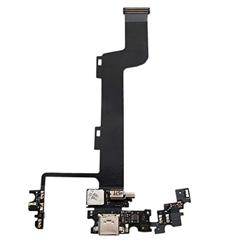Liluyao Partes móviles Cable Flexible con Puerto de Carga ZUK Z1 de Lenovo con vibrador
