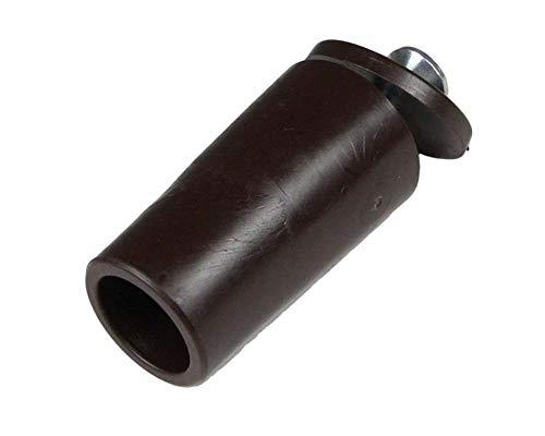 Rolladen Stopper 40 mm lang in braun Anschläge 10 Stück Rolatec Set