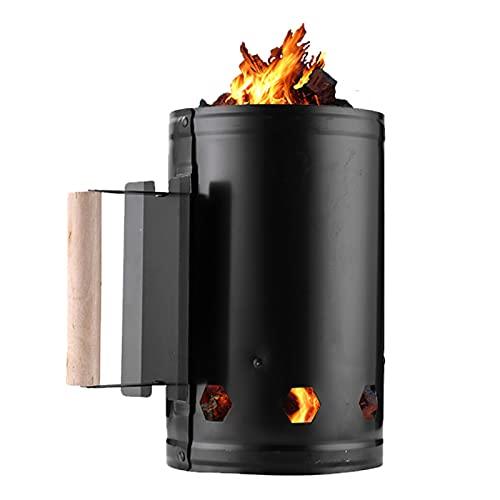 ALEOHALTER Arranque de chimenea, de carbón rápido para chimenea, accesorios para chimenea, quemador de carbón, herramienta de cocina, parrilla de inicio rápido para acampar, chimenea de arranque