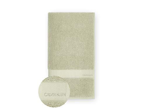 Calvin Klein Tracy Toalla de baño, Cotton, Aloe, 92x183 cm