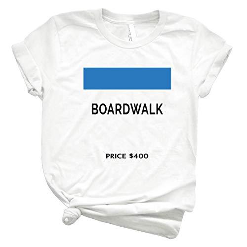 Boardwalk Game Board 8 Best Women Shirt - Men Shirts Fashion - Old Fashioned Shirt - Teen Girl Graphic T