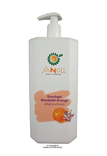 Sanoll Duschgel Mandelöl-Orange 1.000 ml