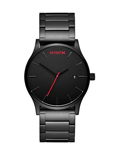MVMT Herren Analog Quarz Uhr mit Edelstahl Armband D-L213.5B.551